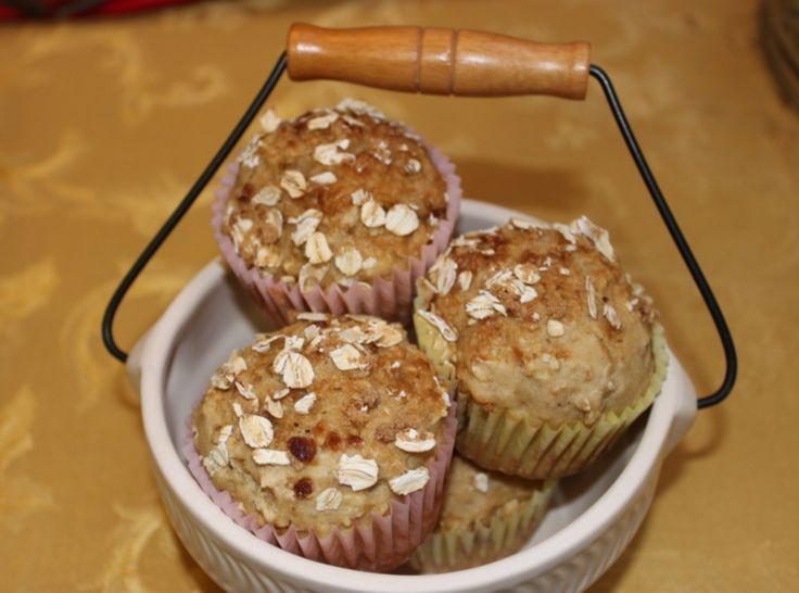 Oatmeal Cream Cheese Muffins | Breakfast | Pinterest
