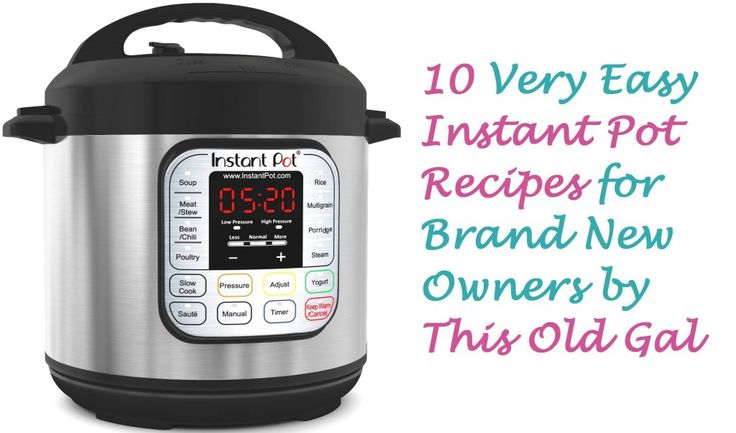 This Old Gal website - she's all about cooking, a lot about cooking with the Instant Pot or other pressure cookers. Lots of recipes.
