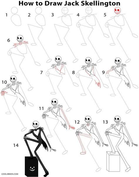 Drawings Of Jack Skellington Sewing