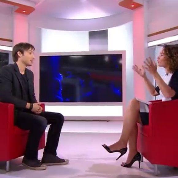 Luc Langevin fait ses débuts en France et mystifie l'animatrice d'un téléjournal! | HollywoodPQ.com