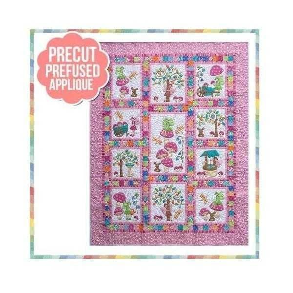 Pink Ribbon Quilt Kit