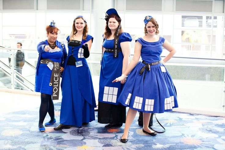 Cute Tardis Costume Dresses  @Joanne Gonzalez - yours is still better, but these are cute too!