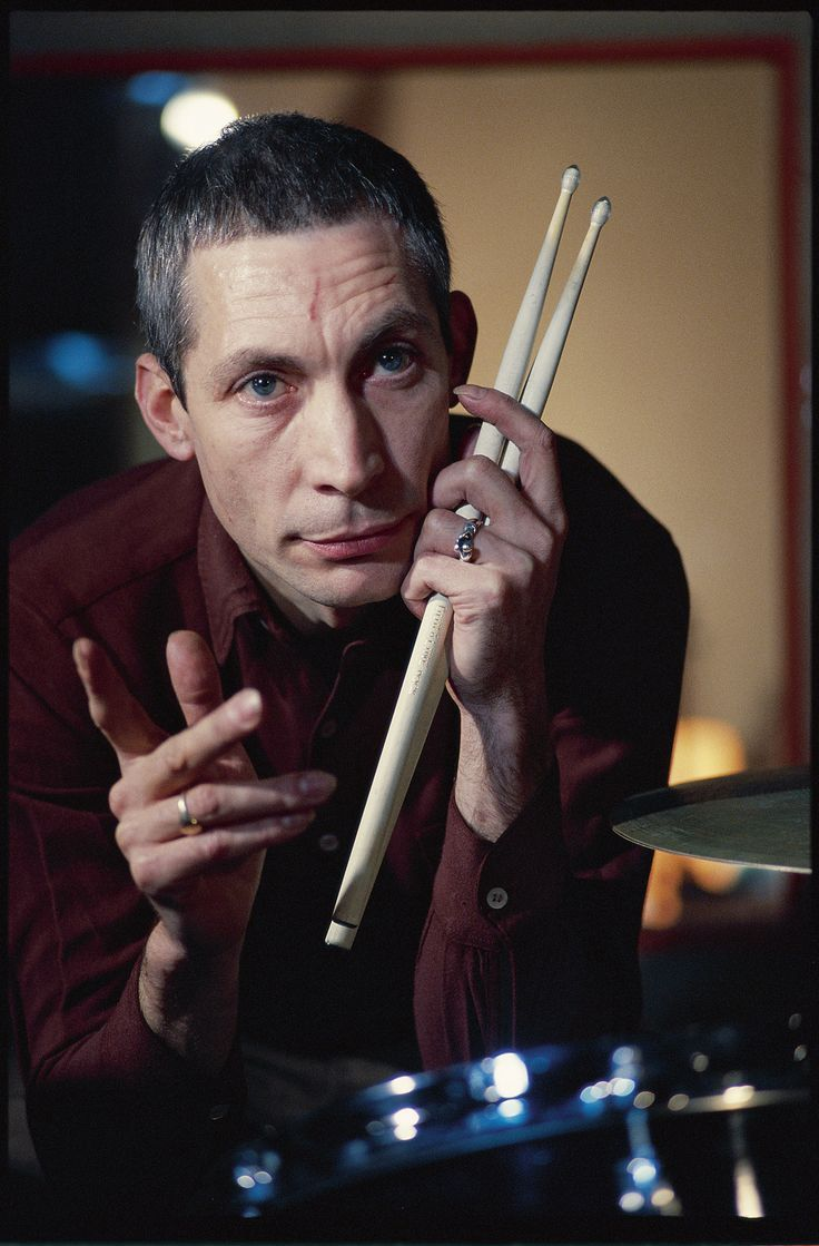 Charlie Watts by Herb Ritts, taken during the Some Girls sessions in ...