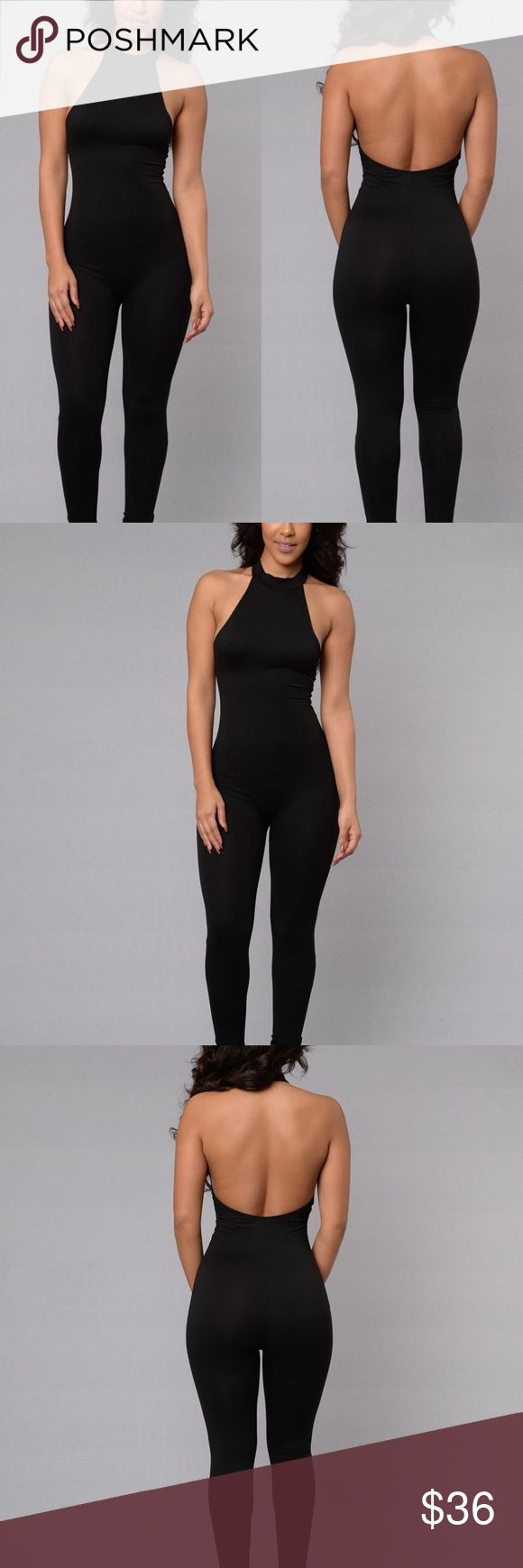 Cute Bodycon backless Jumpsuit Cute and sexy fitted Jumpsuit. 100% cotton. True to size. Pants Jumpsuits & Rompers