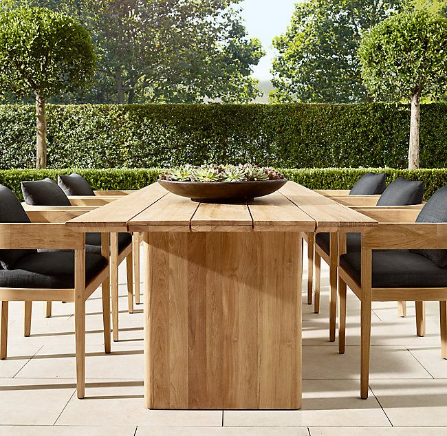 Balmain Teak Rectangular Dining Table Rectangular Dining Table
