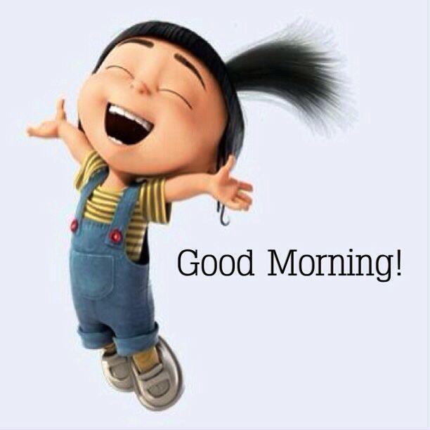 Bei diesem fröhlichen Anblick kann es nur ein guter Morgen werden!