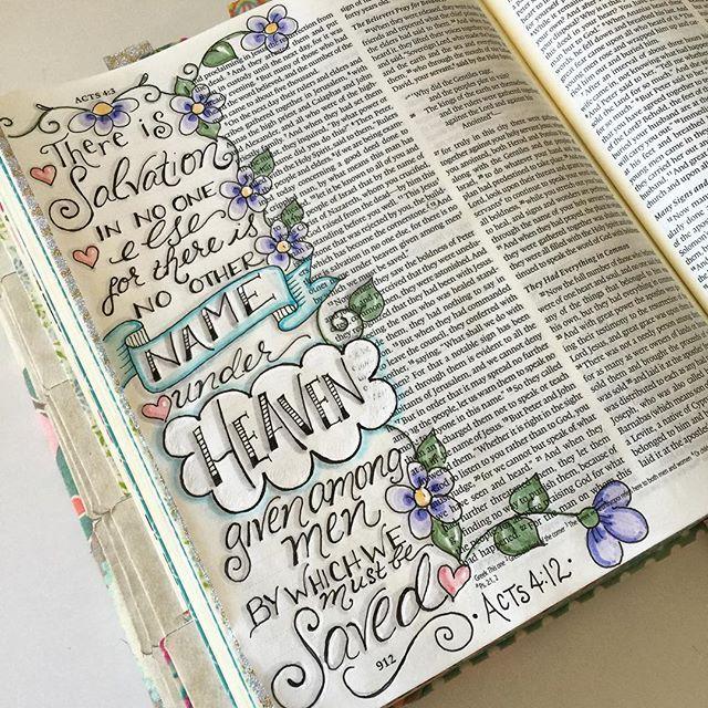 Jennifer @our_grateful_hearts Acts 4:12 ~ &quot...Instagram photo | Websta (Webstagram)