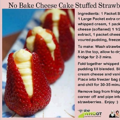 These would make a great treat after dinner or finger deserts for a party.