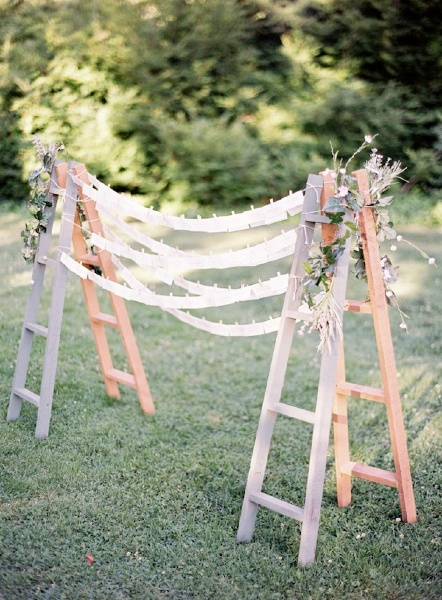 backdrop with ladders