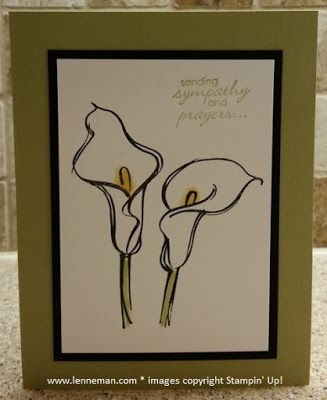 Remarkable You Petite Pairs Sympathy- Dena Lenneman, Stampin' Up! Demonstrator