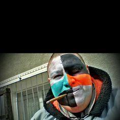 #FASNACHT #FASI #FASCHING #FASNET #KARNEVAL #CARNIVAL #SAVOGNIN #NAGT #GRAUBÜNDÄ #GRAUBÜNDEN #GR #GUGGE #GUGGEMUSIG #GUGGENMUSIK #VGC #VOLLGASCHLÖPFER #VILLIGER #KIEL #PAINT #COSTUME #KOSTÜM #GWÄNDLI