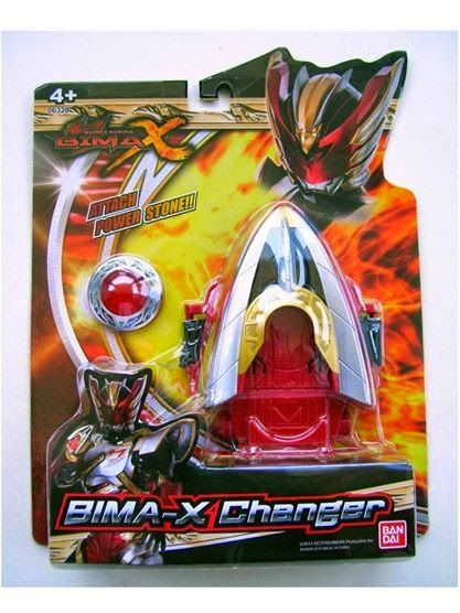 Gelang Changer Bima X Ori Bandai . Mainan anak gelang berubah satria Bima X yang sangat keren. Asli Bandai di jual dengan segel. Tidak ada bunyi maupun lampu.