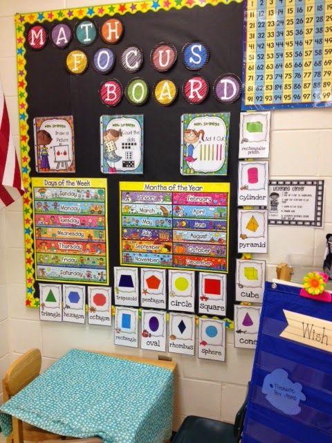 First Grade and Flip Flops: Classroom Reveal!