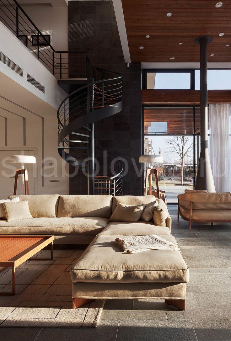гостиная - современный стиль, минимализм, contemporary house, dining room