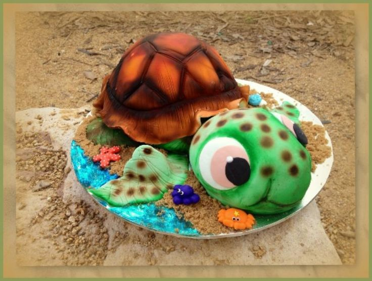 'Squirt' Turtle cake