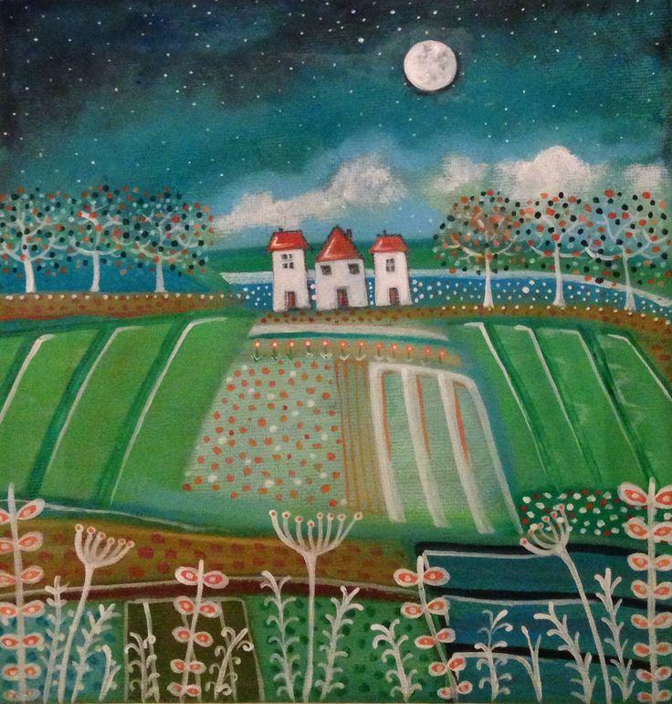 Autumn moon Rachael Dunn