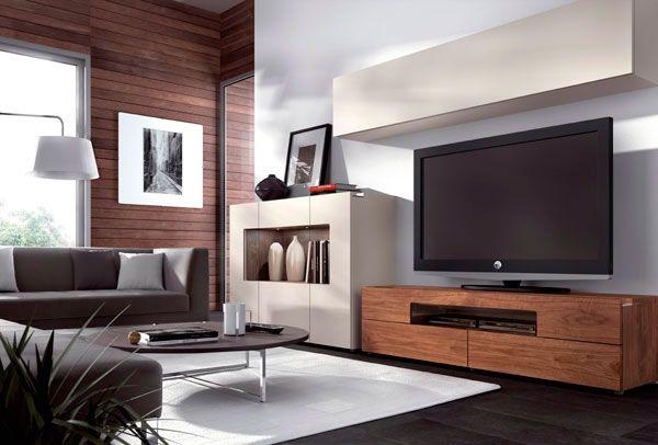 Mueble de salon natural D -
