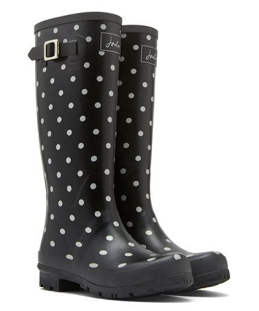 Another great find on #zulily! Silver Spot Welly Rain Boot - Women by Joules #zulilyfinds