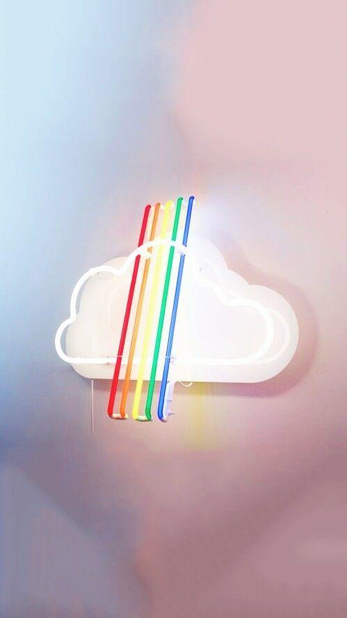 Pin by Suhani Vishal on rainbow | Rainbow aesthetic, Neon ...