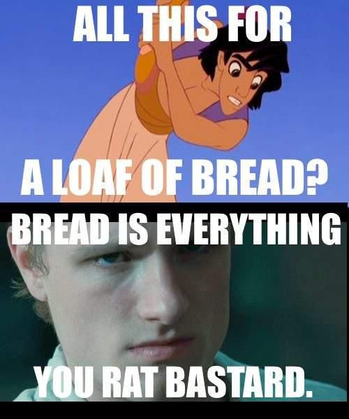the boy with the bread