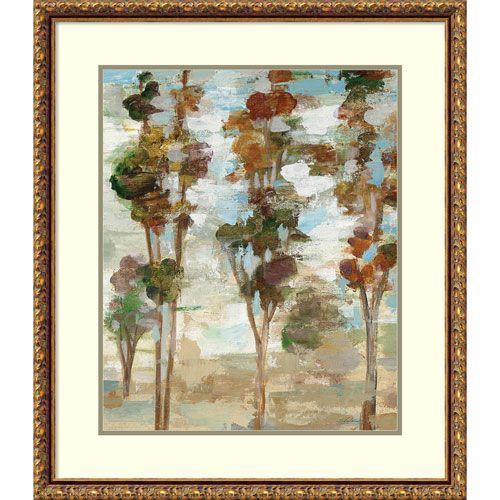 Serene Forest III by Silvia Vassileva, 26 x 30 In. Framed Art Print