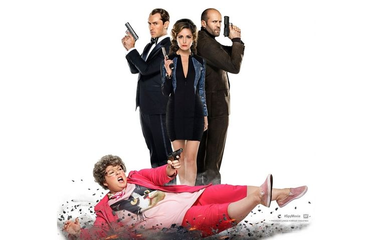 Spy - Melissa McCarthy, Jason Statham, Rose Byrne, Miranda Hart, Bobby Cannavale, Allison Janney and Jude Law