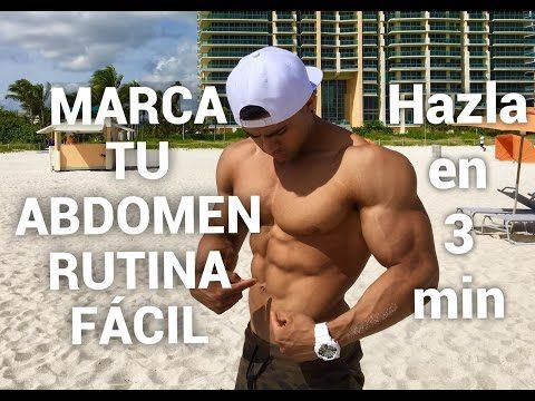 EJERCICIOS FACILES PARA ABDOMEN - ISMAEL MARTINEZ - YouTube
