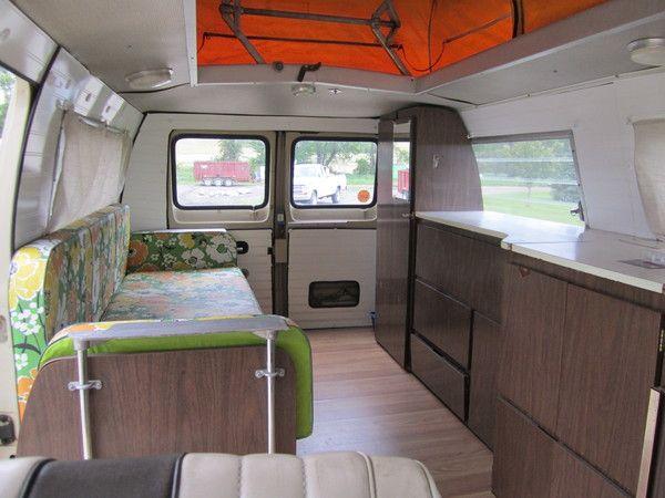 Wow Nice Inside Of Re Done Hippie Van Gypsy Hippie Boho