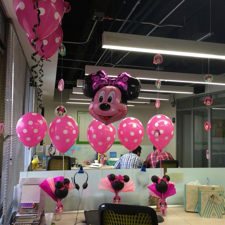 Minnie mouse birthday decoration                                                                                                                                                                                 Más