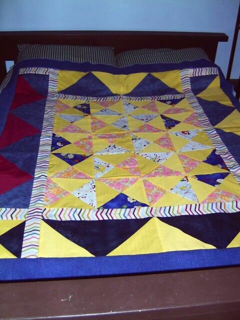 TV blanket quilt top ~by Gypsy Stitches~