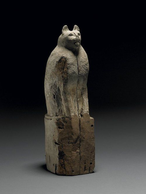 Mummy case for a cat 305 BC - AD 30 Ptolemaic (Source: The British Museum