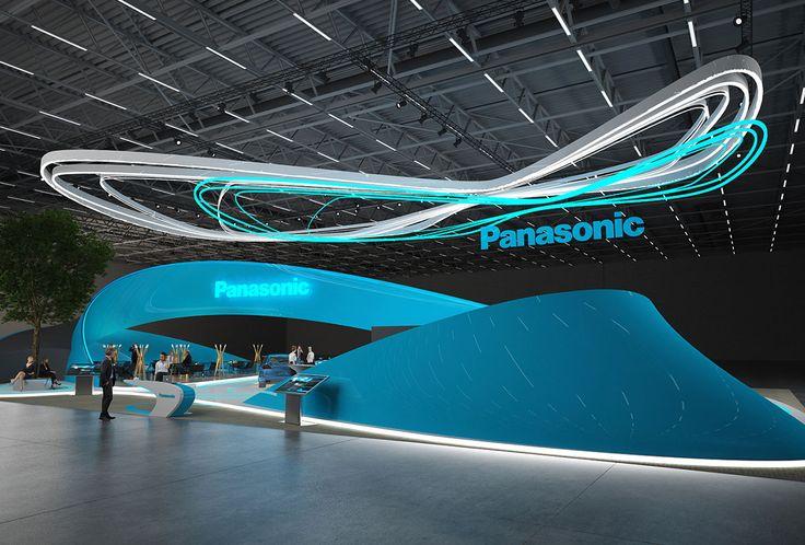 Panasonic exhibition stand design | | GM Stand Design