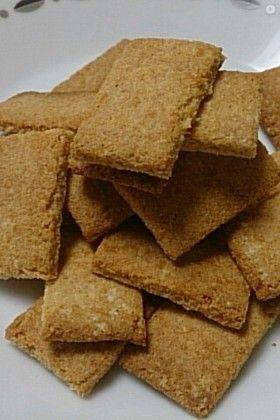 ダイエット☆サクサク香ばしおからクッキー
