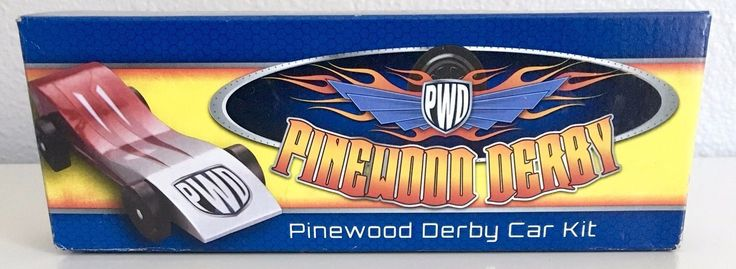 Boy Scouts of America Cub Scout Pinewood Derby Car Kit Official 17006 Cub model