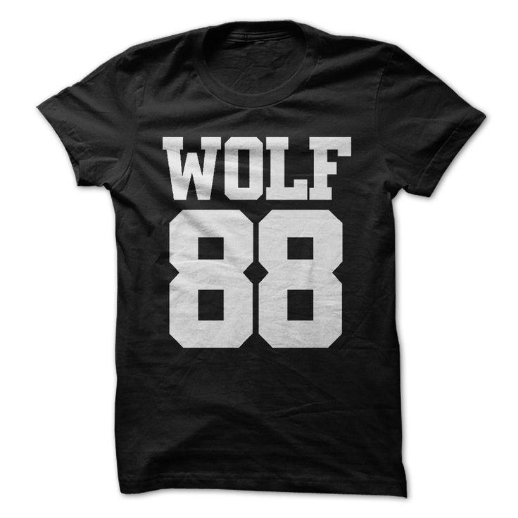 EXO WOLF 88 T Shirts, Hoodies. Check price ==► https://www.sunfrog.com/Music/EXO-WOLF-88.html?41382 $20
