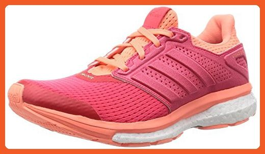 Adidas Supernova Glide Boost 8 Women's Running Shoes - SS16 - 7.5 - Orange - Athletic shoes for women (*Amazon Partner-Link)
