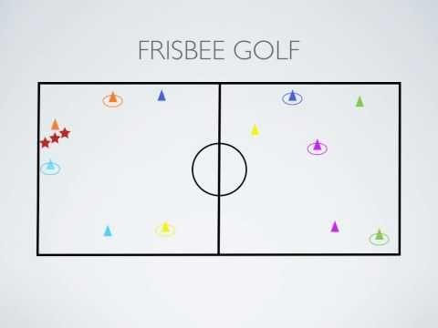 Physical Education Games - Frisbee Golf
