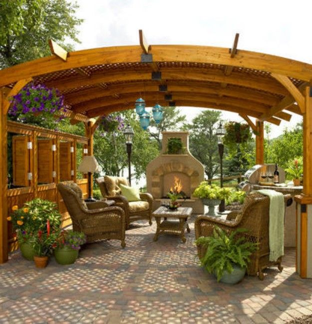 8 best pergola roof ideas images on Pinterest | Patio ...