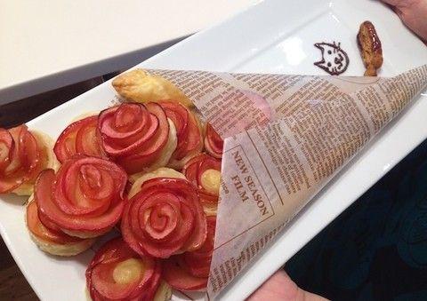 ネットで大いに盛り上がった薔薇の形のアップルパイ。実際に上手に作れるか、編集部でも試してみました!