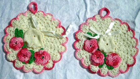 I have doilies made by my Great Oma Remple, Oma Woelke, and Grandma Fuchs.  The love that went into making them :)