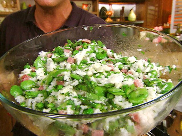 insalata di riso (spring vegetable rice salad) ☆ michael chiarello ☆ biking picnic