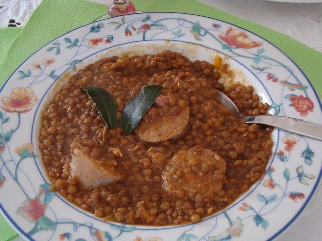 La buona cucina di Katty: Zuppa di lenticchie al pomodoro