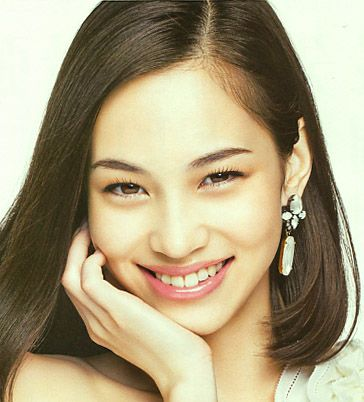 Model/Kiko Mizuhara. Beauty Book 2012 Early Winter.    (leaflet) By SHISEIDO (Japanese Cosmetics company).