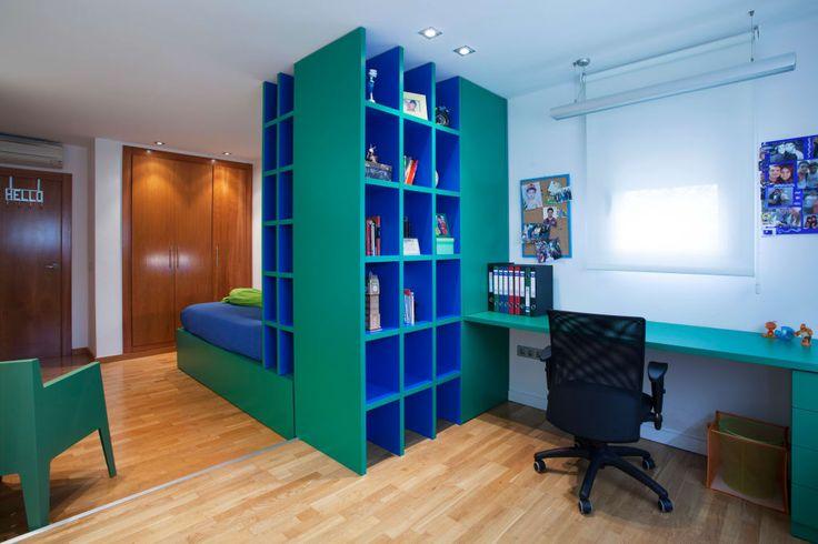 Fotos de dormitorios infantiles de estilo moderno : casa unifamiliar en el grao de castellon | homify