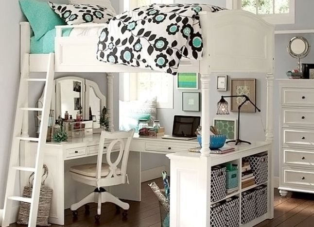 Love this for my little girl's room! Ideas Beautiful Teenage Girls Bedroom Designs : Ideas Beautiful Teenage Girls Bedroom Designs Modern WithThis Is A Fabulous Design For A Stylish
