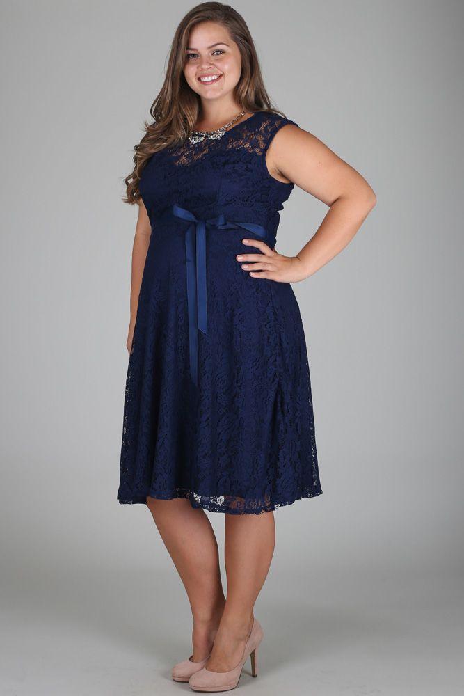 Navy Blue Lace Plus Size Maternity Dress Plus Size Maternity Dresses Bridesmaid Dresses Plus Size Blue Plus Size Dresses