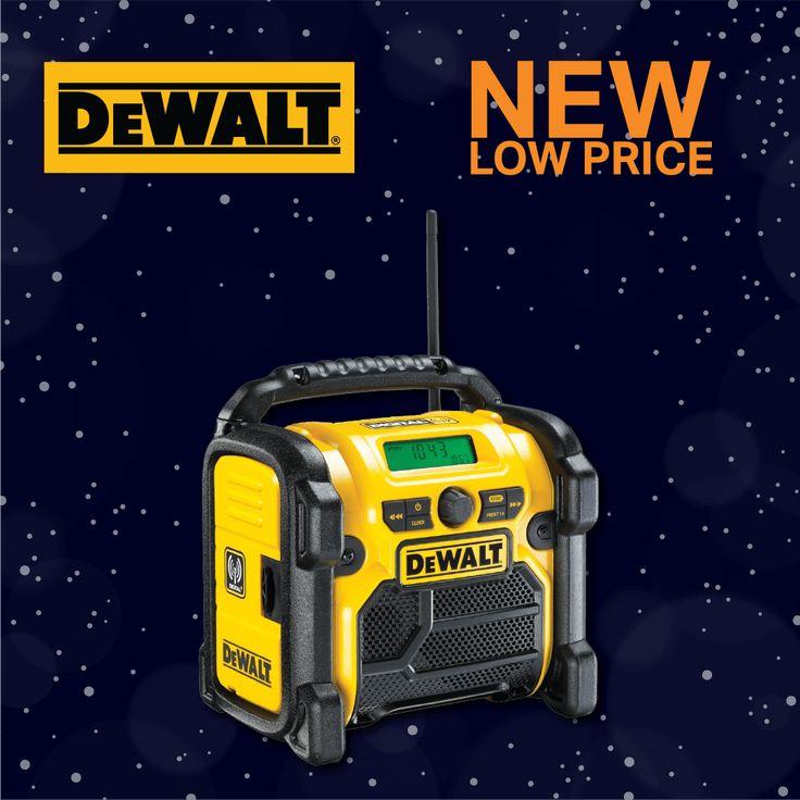 Another Price Reduction 🎄 DeWalt DAB Digital Radio 240V