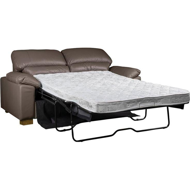 Urban leather sofa bed