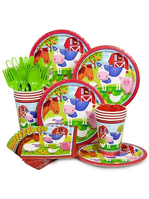 Farm Animal Party Standard Kit -Farm Party Supplies