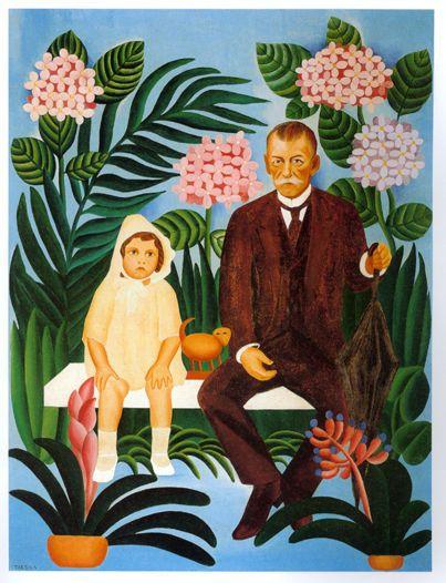 Pastoral. Óleo sobre tela. Tarsila do Amaral (01/09/1886-17/01/1973).